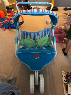 Retired American Girl Bitty Twins stroller. EUC. $30. PPU in Spring Hill.