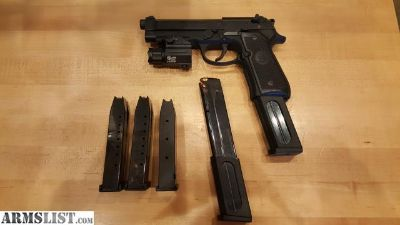 For Sale: Beretta 92A1 with 5 Magazines