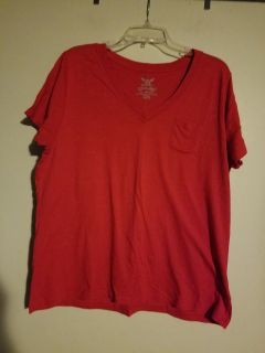 Red Faded Glory shirt 2X