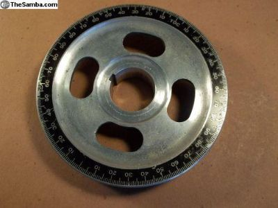 Looking for aluminum crank pulley like this in red