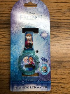 NEW! Flashing Frozen watch. Price firm.