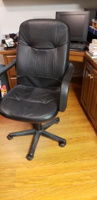 VINTAGE OFFICE ROLLING CHAIR