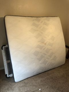 King size mattress (barely used)