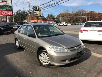 2005 Honda Civic LX (Shoreline Mist Metallic)