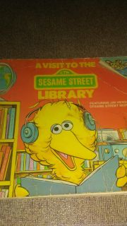 Sesame street visit to the library