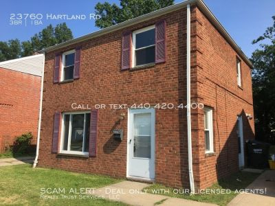 Brand new carpet in this Sturdy 3 Bedroom Brick Colonial!