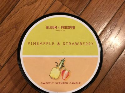 Bloom & Prosper Pineapple & Strawberry Candle