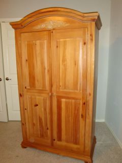 Armoire, for clothing/tv/or both