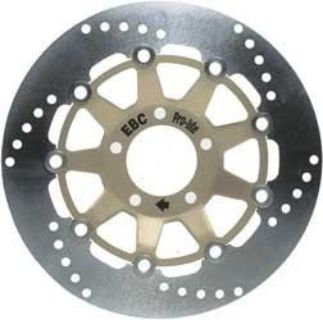 Find 07-12 Honda CRF 150 R/RB EBC Front Standard Brake Rotor - MD6314D Solid Pro-Lite motorcycle in Loudon, Tennessee, US, for US $77.91
