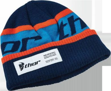 Purchase Thor Mens Boys Race Spec Beanie Hat MX ATV BMX Motocross Navy/Orange One Size motorcycle in Monroe, Connecticut, United States, for US $14.95