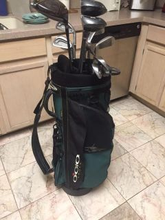 Accura Irons 3-9 PW SW putter Cleveland driver 3&5 woods will include Ogio bag $45 obo