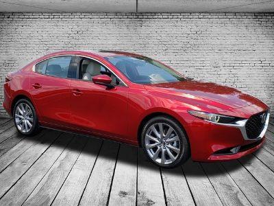 2019 Mazda MAZDA3 SEDAN W/PREMIUM PKG (RED)