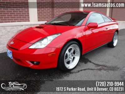 2003 Toyota Celica GT (Absolutely Red)