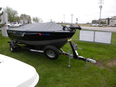 2016 Crestliner 1600 Vision Tiller Aluminum Fish Boats Kaukauna, WI
