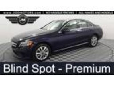 Used 2019 Mercedes-Benz C-Class Blue, 17.8K miles