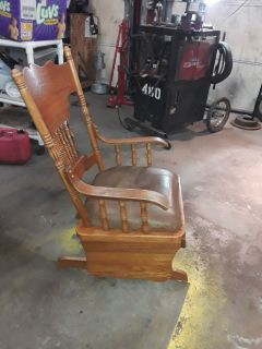 Wooden Glider chair