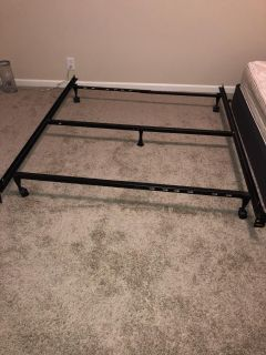 Queen size bed rails/frame