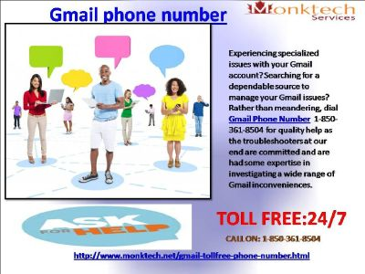 Dial Gmail Phone Number and Relax 1-850-316-4893