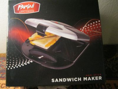 Sandwich Maker, electric, made by Parini