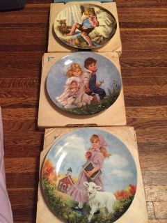 3 collectors plates $65 for all