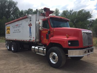 2002 International 5600I Feed Truck