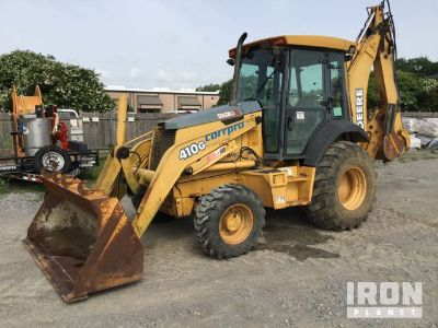 John Deere 410G 4x4 Backhoe Loader