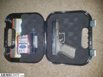 For Sale: Glock 23 with OD frame and 9mm conversion