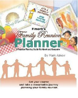 $17.99 Family Reunion Planning Keepsake Book