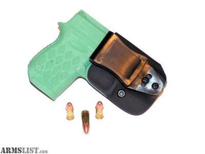 For Sale: Aggressive Concealment DB9IWBLPT Tuckable IWB Kydex Holster Diamondback DB9