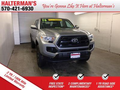 2016 Toyota Tacoma SR (silver)