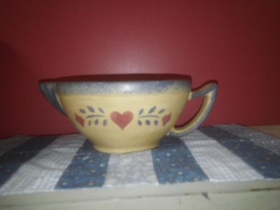 Adorable pitcher bowl would make a great one of a kind planter