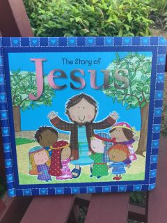 THE STORY of JESUS BOARD BOOK for CHILDRENGREAT CONDITION