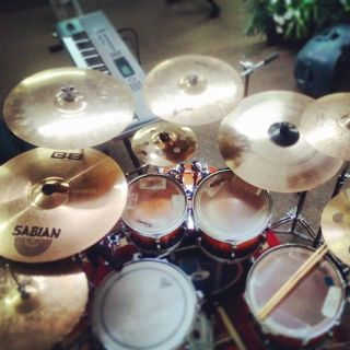Grestch Catalina Maple 7 PC. Kit Cymbals and HardWare Included
