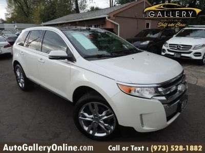 2013 Ford Edge Limited (White Platinum Tri-Coat Metallic)