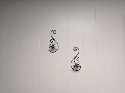 Wall Sconces w/Candle