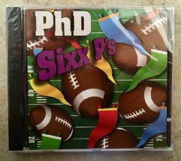 BRAND NEW PhD Sixx P's CD