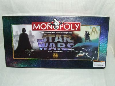 Star Wars Monopoly Classic Trilogy Edition 1997