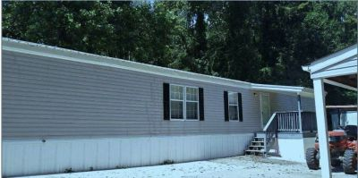 Roomy 3 BR  2 BA  Manufactured Home Trailer located on best lot in Jamestown Estates, Clinton, TN
