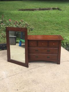 Changing Table | Foyer Dresser and Mirror