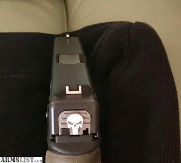 For Sale: Custom Glock 19 Gen 3 - 9mm - Excellent