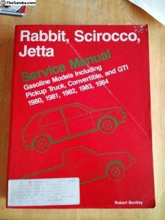 Rabbit Scirocco Jetta Bentley
