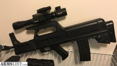 For Sale: RUGER BULLPUP .223 W/ EXTRAS