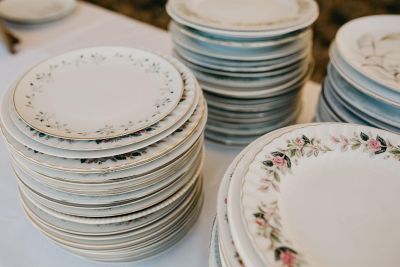 Mismatched China/plates for sale. Great for wedding!