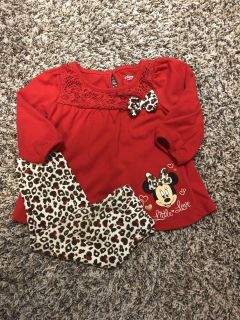 Minnie Mouse Disney Outfit