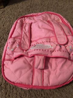American Girl Bitty Baby Carrier Backpack