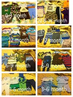 Baby boy clothes (Deridder)