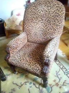 Leopard Sofa Chair