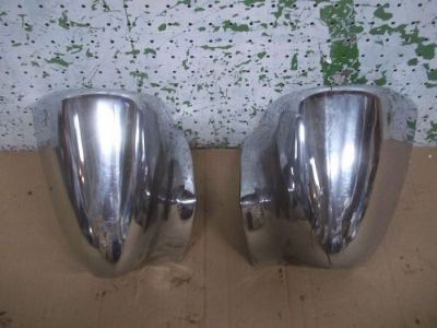 Sell 1960 PLYMOUTH 2 DOOR HT REAR BUMPER ENDS L&R 60 M motorcycle in Springfield, Oregon, United States, for US $79.99