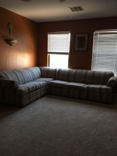 Sectional coach w/ bed