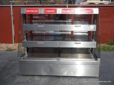 $1, Hardt 61 12 3-Tier Electic hot Display Case. Restaurant Equipment.